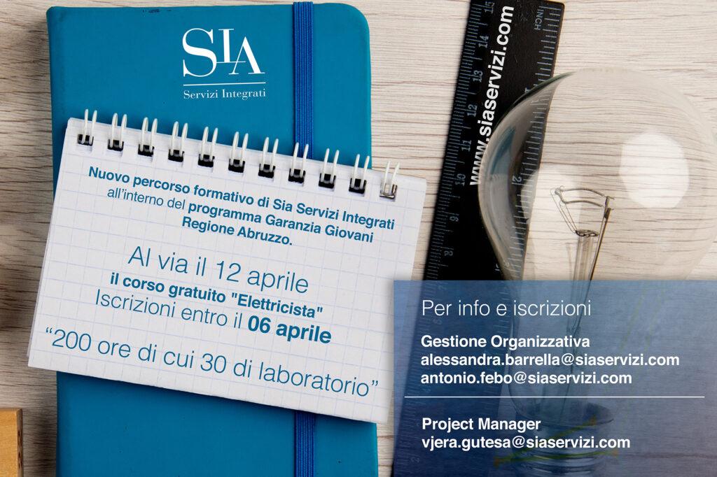 SIA Abruzzo - Nuovo corso elettricista
